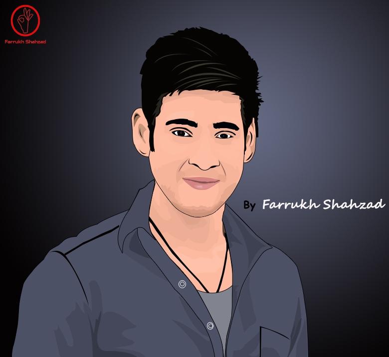 Mahesh Babu by FarrukhShahzad
